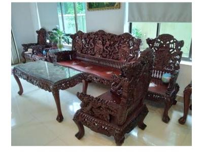 Bộ Bàn Ghế Gỗ Hương SP000563