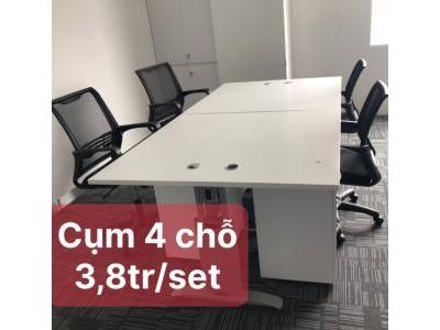 Bàn văn phòng cụm SP000692