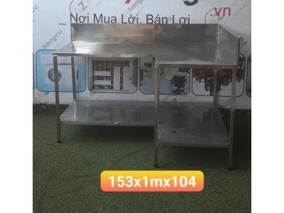 Kệ inox nhà hàng SP000722