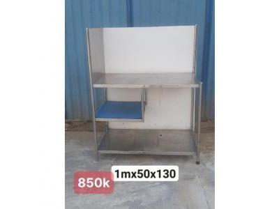 BÀN INOX 304 SƠ CHẾ SP000779