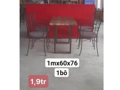Bàn ghế quán cafe SP000833