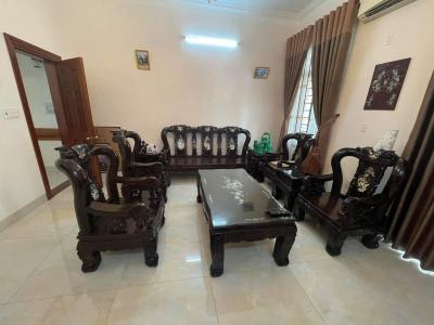 Bộ bàn ghế gỗ mun SP000846
