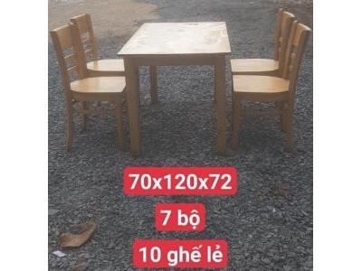 bàn ghế nhà hàng, quán ăn SP000871
