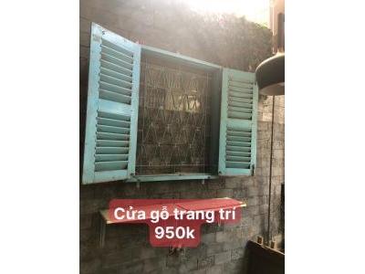 cửa gỗ decor SP000886
