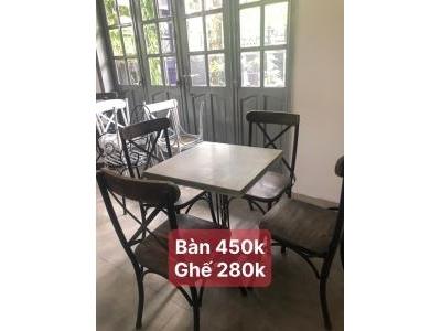 Bộ bàn ghế cafe SP000892