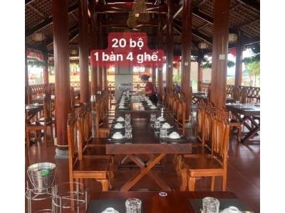 20 bộ bàn ghế gỗ đỏ cao cấp SP000942