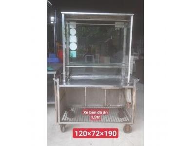 XE BÀN ĐỒ ĂN INOX SP000802