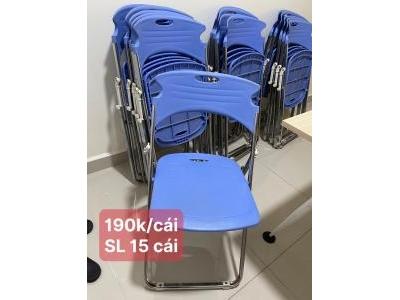 Ghế xếp nhựa SP000989