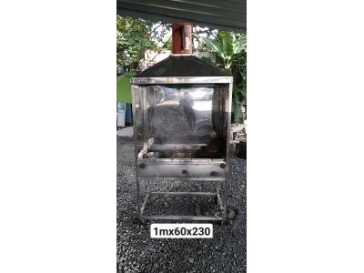 Thanh lý lò nướng than kèm hút khói SP001042