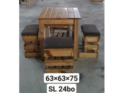 Bộ bàn ghế cafe SP001036