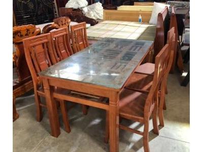 Bộ bàn ăn 6 ghế SP001049