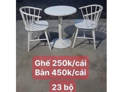 Bàn ghế cafe giá rẻ SP001052
